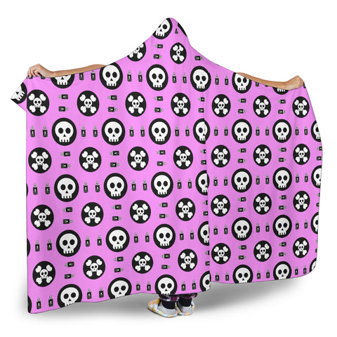 Skulls and Potion Hooded Blanket - MRP
