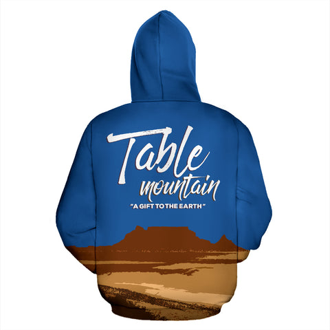 Table Mountain All Over Print Hoodie - MRP