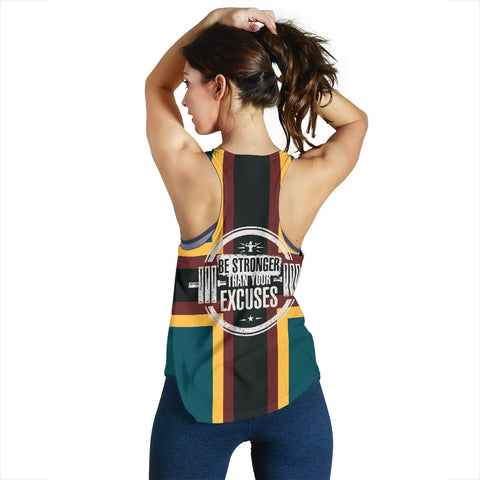 Be Stronger Women's Racerback Tank - MRH