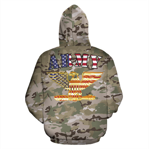 MultiCam U.S. Army All Over Print Hoodie 01 - MRA