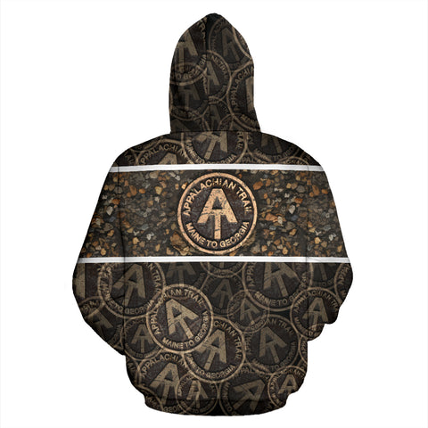 Appalachian Trail - Hiking All Over Print Hoodie - MRP