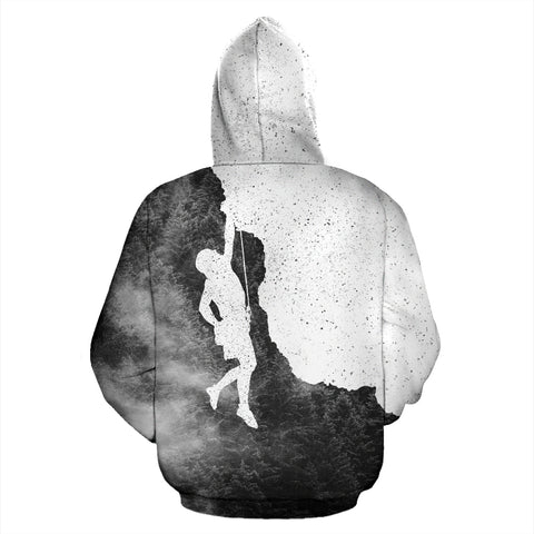 Image of Mountain-Roar™ Climbing All Over Print Hoodie - MRP