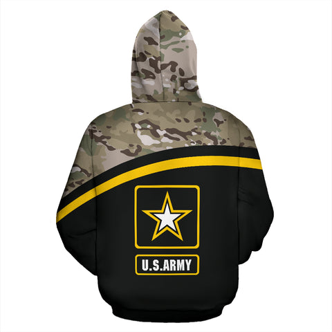 MultiCam U.S. Army All Over Print Hoodie 07 - MRA - Back