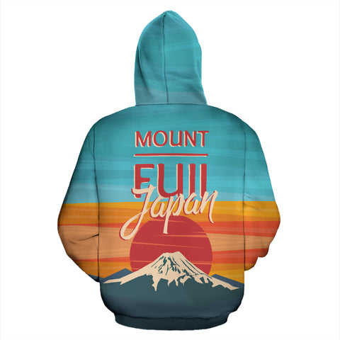 Image of Mount Fuji All Over Print Hoodie - MRP