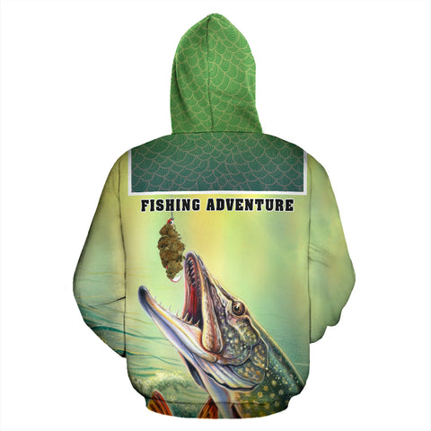 Fishing Adventure All Over Print Hoodie - MRE