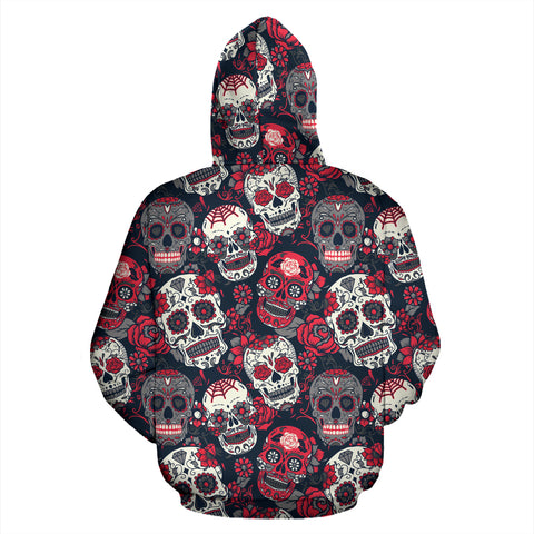 Skull Lovers Zip Up Hoodie - MRP