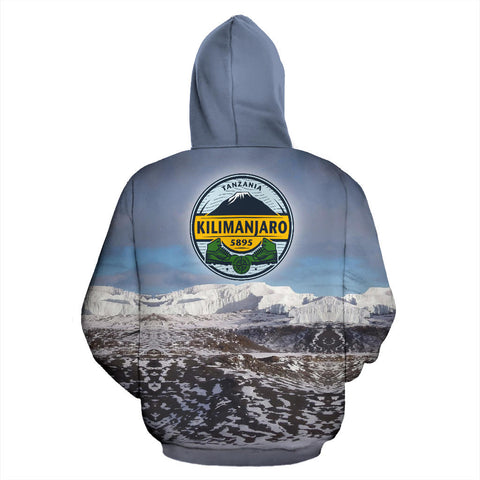 Lemosho Route Mount Kilimanjaro All Over Print Hoodie - MRE