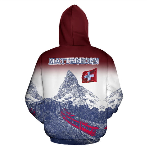 Zermatt Matterhorn The Beauty Of Zermatt Switzerland Hoodie - MRP