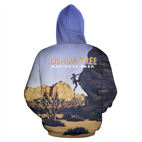 Joshua Tree National Park All Over Print Hoodie - MRT