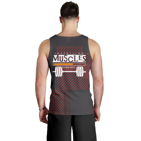 Image of Installing Muscle Men's Tank Top - MRH