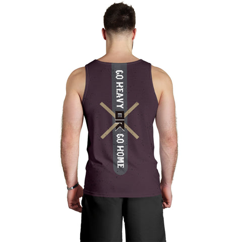 Image of Go heavy Men's Tank Top - MRH