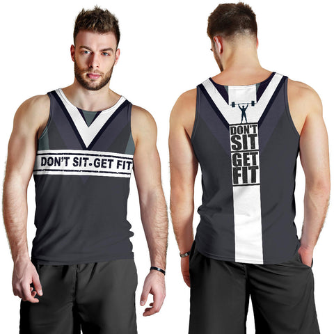Don't sit - Get fit Men's Tank Top - MRH