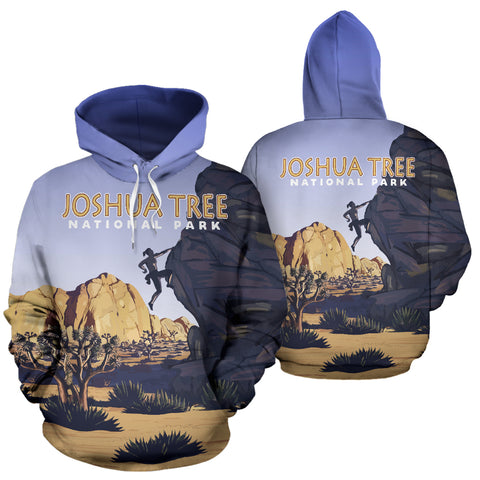 Image of Joshua Tree National Park All Over Print Hoodie - MRT