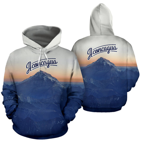 Mount Aconcagua All Over Print Hoodie - MRP