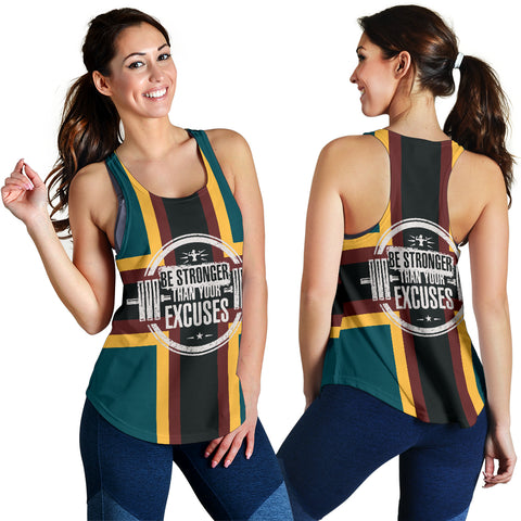 Image of Be Stronger Women's Racerback Tank - MRH
