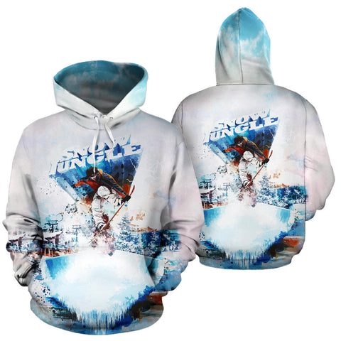 Snow Jungle All Over Print Hoodie - MRE