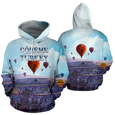 Goreme National Park All Over Print Hoodie - MRE