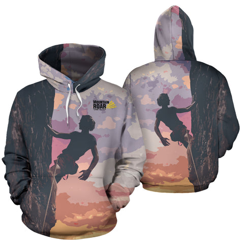 Image of Mountain-Roar™ Climbing All Over Print Hoodie 02 - MRP