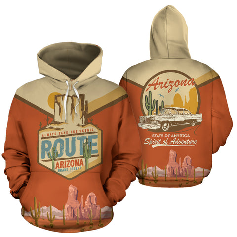 Arizona Grand Desert All Over Print Hoodie - MRP
