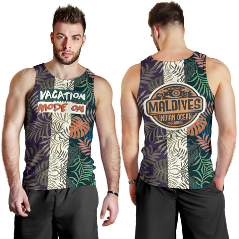 Vacation mode on - Maldives Men's Tank Top MRH