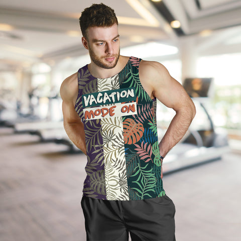 Image of Vacation mode on - Maldives Men's Tank Top MRH
