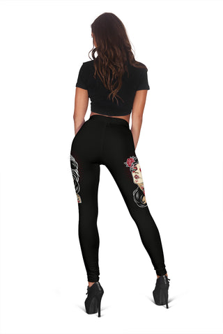 Sugar Skull Fashion Leggings - MRP