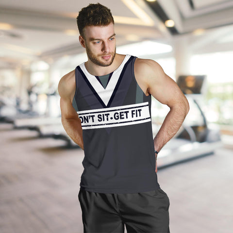 Image of Don't sit - Get fit Men's Tank Top - MRH