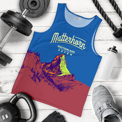 Image of Zermatt Matterhorn Mountain Tank Top - MRET