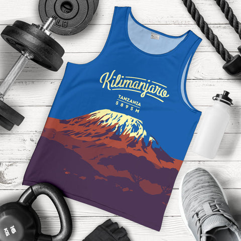 Image of Kilimanjaro Mountain Trekking Tank Top - MRET