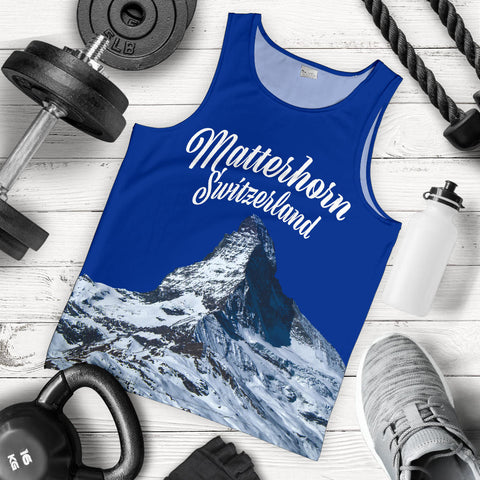 Image of Zermatt Matterhorn Switzerland Mountain Tank Top - MRPT
