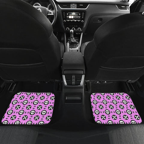 Skulls and Potion Car Floor Mat 4 Pieces - MRP