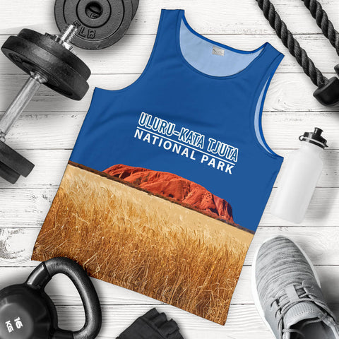 Uluru-Kata Tjuta National Park  Tank Top - MRET