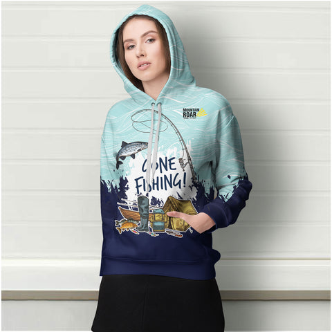 Fish Or Cut Bait All Over Print Hoodie - MRE