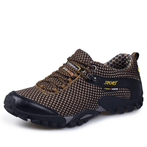 Image of Mountain Roar Trail Hiking Shoes 12 Brown Bear Left