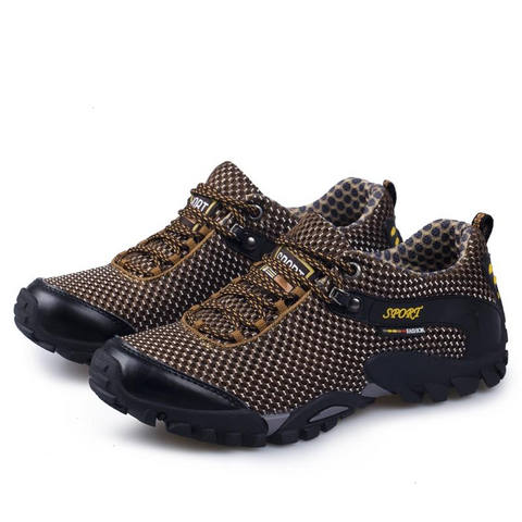 Image of Mountain Roar Trail Hiking Shoes 12 Brown Bear Overal