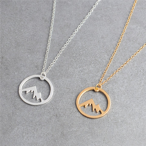 Mountain Range 01 | Mountain Necklace - MRA