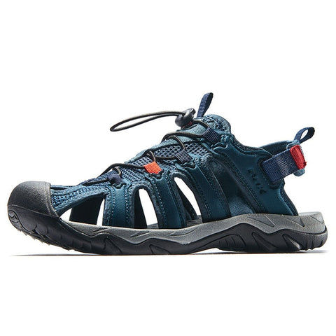 Mountain Roar Trail Hiking Sandals Mens - MRJ Dark Blue