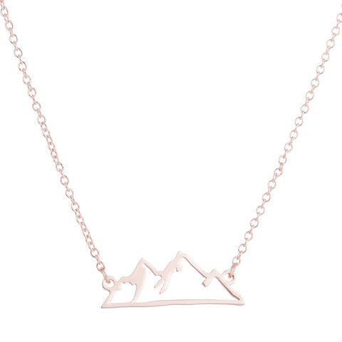 Mountain Range 09 | Mountain Necklace - MRA