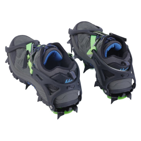 Outdoor Climbing Hiking Antiskid 14 Tooth Snowshoes Manganese Steel Material | Mountain Roar Crampons - MRF