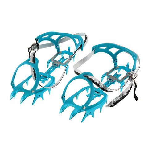 Image of 14-point Super-lightweight Semi-rigid Hiking Crampons | Mountain Roar Crampons - MRF