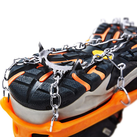 Image of 8-tooth Stainless Steel Crampons Outdoor Anti-ski Law | Mountain Roar Crampons - MRF