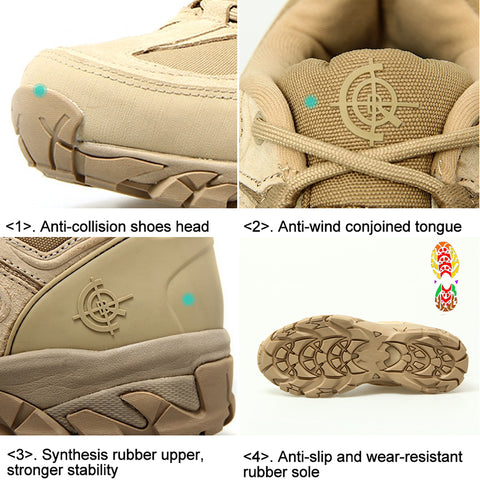 Hiking-Shoes-Outdoor-Shoes-Trekking-Sneakers-Men-Hunting-Boots-|-Mountain-Roar-Trail-Hiking-Shoes-Mens-MRF-Sand