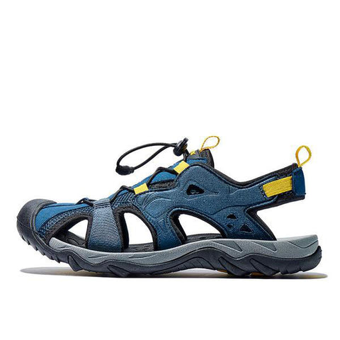 Mountain Roar Trail Hiking Sandals Mens - MRJ Blue