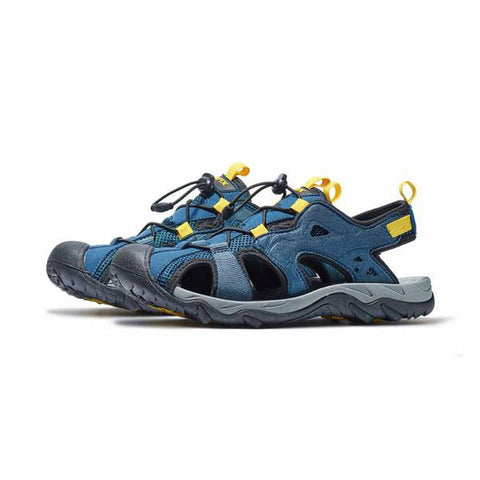 Image of Mountain Roar Trail Hiking Sandals Mens - MRJ Blue