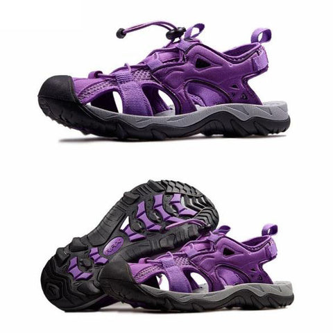 Mountain Roar Trail Hiking Sandals Mens - MRJ Purple