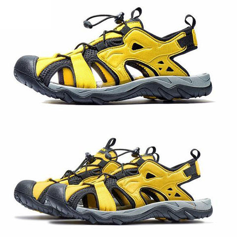 Image of Mountain Roar Trail Hiking Sandals Mens - MRJ Yellow