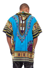 Load image into Gallery viewer, T.blue Dashiki Hoodie