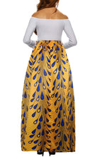 Load image into Gallery viewer, Pattern 9 African Printed Dashiki Skirt