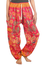Load image into Gallery viewer, Elephants 2 Pink Dashiki Pant