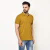 Eazy Men's Pocket Polo T-shirt ( Pack of 2) - Grindle Maroon & Vibrant Mustard